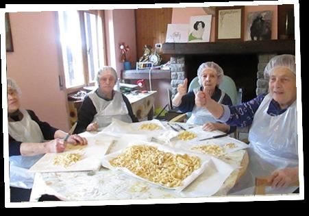 Attività di gruppo residenza per anziani tra Firenze e Bologna