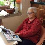 Sala lettura casa per anziani villa del sole vicino firenze